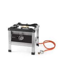 Hendi Hokker op Propaangas | 6.4kW | Kitchen Line | 425x425x(h)400mm