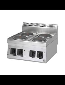 Gastro-Inox Friteuse op Gas Trendline 600 | 2x 8 Liter | 13.5kW |  600(b)x600(d)x455(h)mm  - Copy
