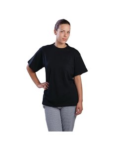 Gastronoble Unisex T-Shirt Zwart | 100% Katoen | Maat L