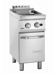 Bartscher Aardgas Pastakoker | 24 Liter | 8.7kW | B40xD70xH85 cm.