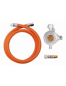 Bartscher Gasaansluitset | Drukregelaar / Slang / Slangbreukbeveiliging