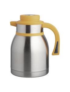 EMGA Isoleerkan met Drukknopsluiting Geel | 1.5 Liter