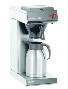 "Bartscher Koffiemachine ""Contessa 1002""   Kan 2 Liter   1400Watt   Cap. max. 13 Kopjes"