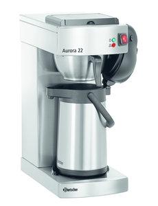 """Bartscher Koffiemachine """"Aurora 22""""   Kan 1.9 Liter   1400Watt   8 minuten voor 1,9 liter"""