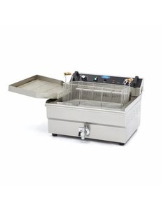 Maxima Bakkerij friteuse - vis friteuse met aftapkraan 30 Liter   400V / 6.0kW