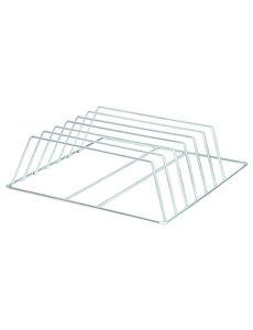 Bartscher Dienbladenkorf met 6 Vakken |  B500 x D500 x H160 mm