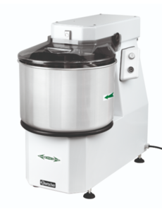 Bartscher Spiraal Deegkneedmachine | Productie 38 kg / 42 liter  | 230V / 1.5kW |  B 480 x D 800 x H 730 mm