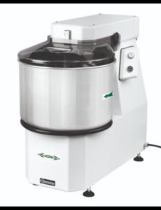 Bartscher Spiraal Deegkneedmachine | Productie 18 kg / 22 liter | 230V / 0.75kW | B 390 x D 670 x H 620 mm