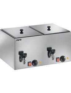 Saro Worstenwarmer | 2x 1kW | 0 / +110 °C | 56x35x(H)29cm