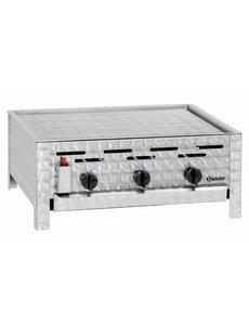Bartscher Gasbarbecue met Rooster en 3 Branders |  B 650 x D 570 x H 270 mm