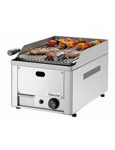 Bartscher Aardgas Lavasteen Grill met Grillrooster voor Vlees | 4kW | B330 x D545 x H285 mm