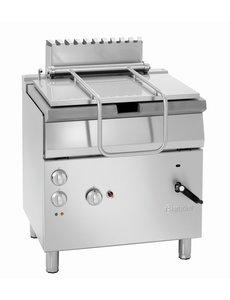 Bartscher Elektro / Gas Kantelbare Braadpan | 12.5kW Gas / 230V | Inhoud 50 Liter |  B800 x D700 x H850 mm