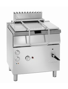 Bartscher Elektro / Gas Kantelbare Braadpan | 12.5kW Gas /230V | Inhoud 50 Liter |  B800 x D700 x H850 mm