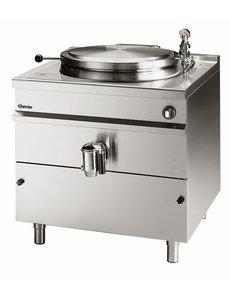 Bartscher Elektrische Kookketel met Indirecte Verwarming | 342 Liter  |  400V / 36kW  | B1.150 x D1.300 x H900 mm