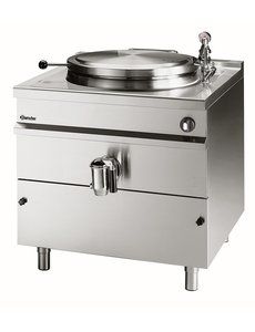 Bartscher Elektrische Kookketel met Indirecte Verwarming | 145 Liter | 400V/18kW | B800 x D900 x H900 mm