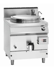 Bartscher Elektro / Gas Kookketel met Indirecte Verwarming | 152 Liter | 21kW Gas / 230V | B800 x D900 x H900 mm