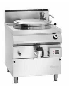 Bartscher Aardgas Kookketel met Indirecte Verwarming | 100 Liter | B800 x D900 x H900 mm