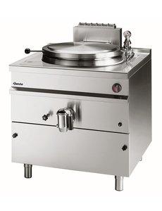 Bartscher Aardgas Kookketel met Indirecte Verwarming | 150 Liter | 21kW Gas |  B800 x D900 x H900 mm
