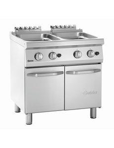 Bartscher Aardgas Pastakoker | 2x 24 Liter | 17.4kW Gas | B800 x D700 x H850 mm