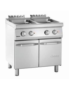 Bartscher Elektrische Pastakoker | 2x 24 Liter | 400V/14kW | B800 x D700 x H850 mm
