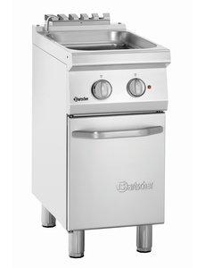 Bartscher Elektrische Pastakoker met Vulkraan | 24 Liter | 400V/7kW | B400 x D700 x H850 mm