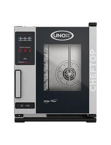 UNOX ChefTop Combisteamer MindMaps ONE POWER met Greep Links | 5xGN2/3 | 400V/5.2kW | 65(H)x66x54cm