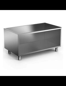 Gastro-Inox Open Onderkast RVS  | 1200x665xH620mm