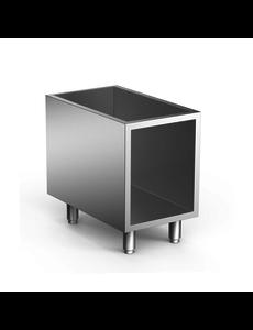 Gastro-Inox Open Onderkast 70/40 RVS  | 400(b)x665(d)x620(h)mm
