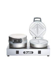 Dualit Contact Broodrooster | 230V | 40x22x(H)19cm