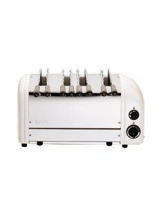 Dualit Sandwich Toaster met 4 Sleuven | 46x21x(H)22cm