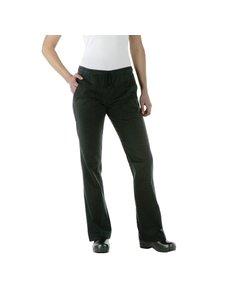 Chef Works Chef Works Executive dames pantalon zwart XL
