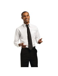 Chef Works Uniform Works unisex overhemd lange mouw wit M