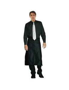 Chef Works Uniform Works unisex overhemd lange mouw zwart M