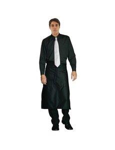 Chef Works Uniform Works unisex overhemd lange mouw zwart XL