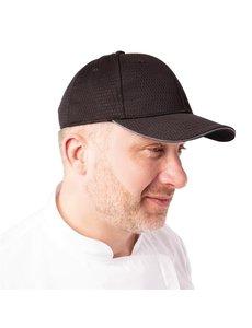 Chef Works Chef Works Cool Vent baseball cap zwart en grijs