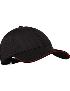 Chef Works Chef Works Cool Vent baseball cap zwart en rood