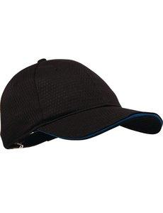 Chef Works Chef Works Cool Vent baseball cap zwart en blauw