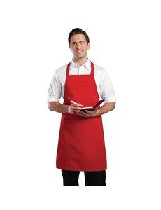 Chef Works Chef Works halterschort rood