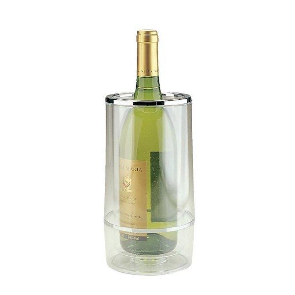 APS APS Wijnkoeler transparant acryl | Dubbelwandig | Ø12xH23cm.
