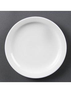 Olympia Olympia Whiteware borden met smalle rand 20,2cm