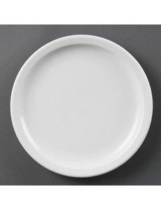 Olympia Olympia Whiteware borden met smalle rand 23cm
