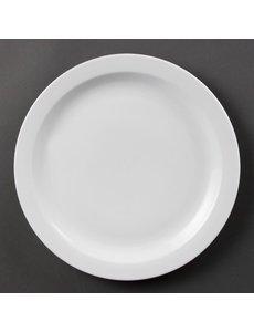 Olympia Olympia Whiteware borden met smalle rand 28cm
