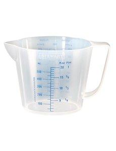 Stewart polypropyleen maatbeker | 0.5 Liter