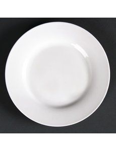 Lumina Fine China Borden met brede rand | Ø 15 cm | 6 stuks
