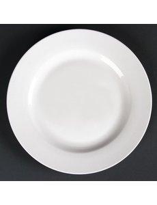 Lumina Fine China Borden met brede rand | Ø 20cm | 6 stuks