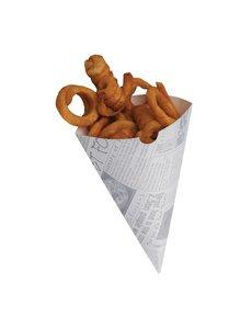 Colpac biologisch afbreekbare friteszakken | 1000 stuks