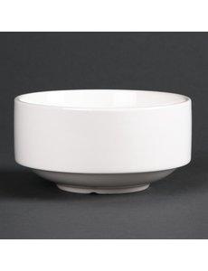 Lumina Fine China Soepkommen stapelbaar 40cl | 6 stuks