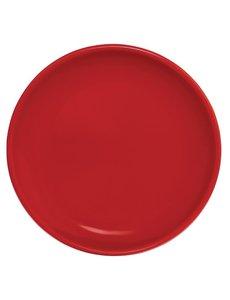 Olympia Café coupebord rood Ø 20,5cm | 12 stuks