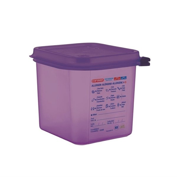 Araven Araven Voedseldoos met luchtdichte deksel 2.6 liter   GN1/6 - 15 diep