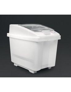 Araven Transparante ingrediëntenbak 100L   Inclusief wielen